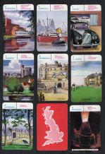 Vintage Playing Cards Card Game British Towns by Pepys 1961